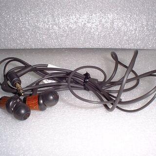 ハイレゾ対応軽量8.5mmウッドドーム振動板使用のイヤホンHA-FW7