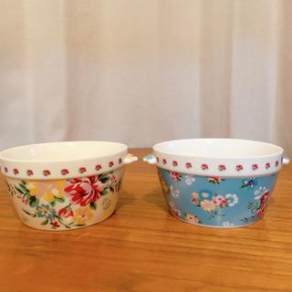 合わせ買いで無料■YAMAKATU  陶器の大小 4個セット■