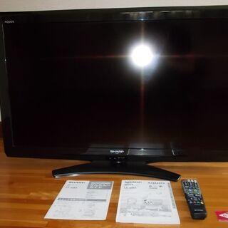 40型ハイビジョン液晶カラーテレビ シャープLC-40E9…