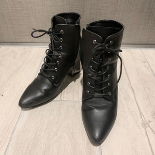革ブーツ25cm