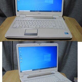 白いPC富士通.LIFEBOOK NF/G60T Core i3...