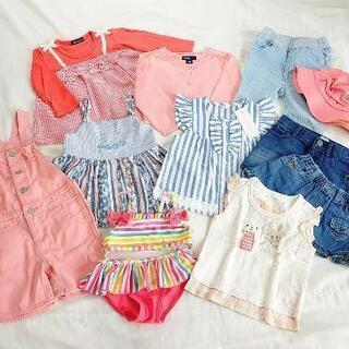 ★80cm★ 女の子向け 春夏物 ブランド服 11着 まとめて