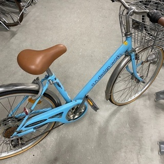 24インチ子供用自転車です