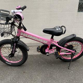 希少カラー HUMMER ハマー ピンク 子供 自転車 1…