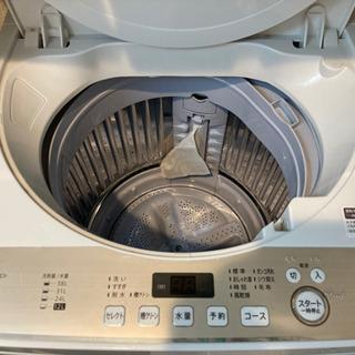 美品 SHARP洗濯機 説明書あり