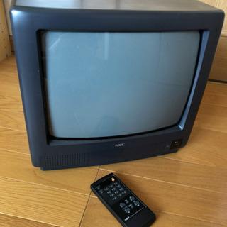 ブラウン管TV 14型 NEC リモコン付き