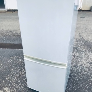 ♦️EJ1502B SHARPノンフロン冷凍冷蔵庫 【2010年製】
