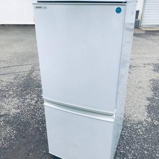 ♦️EJ1503B SHARPノンフロン冷凍冷蔵庫 【2009年製】