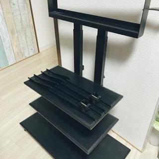 【ネット決済】☆ テレビ スタンド シンプル ブラック ☆