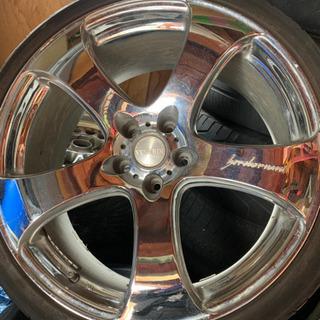 20インチアルミ、タイヤ保護程度