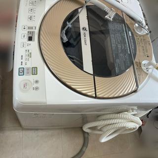 縦型ドラム洗濯機 9キロ 全自動 シャープ