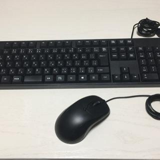 【✨使用感ほぼ無し✨】PC用キーボード+マウスのセット