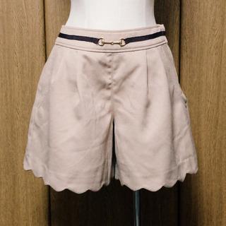 裾スカラップショートパンツ #34