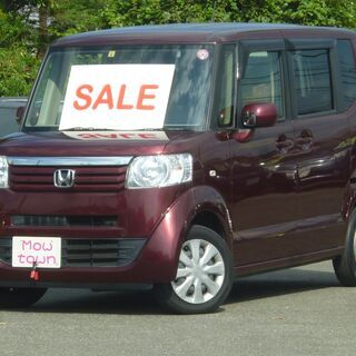 家で買える!H26年 N-BOX希少の4WD!ワンオーナー!両側...