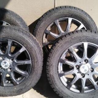 2017年式!スタットレスアルミ付タイヤの画像