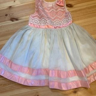 【ネット決済】コストコ サイズ4T ピンクドレス