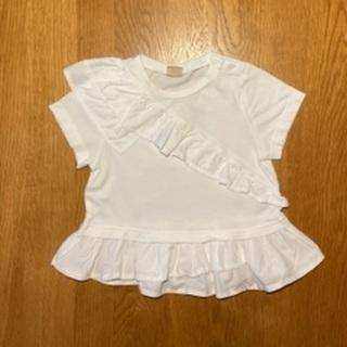 子供服 フリルTシャツ