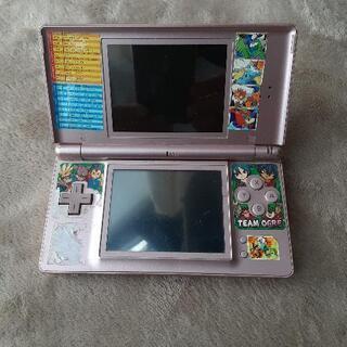 《ジャンク品》Nintend DS Lite  薄いピンク