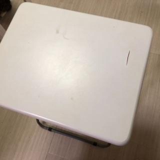 白テーブル キッチン、PC、学習机
