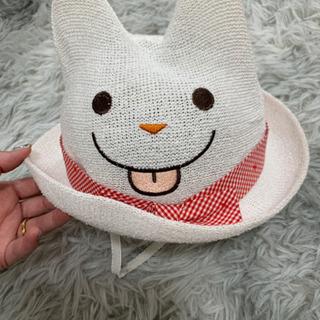 女の子ベビー 48cm 帽子 新品 タグ付き