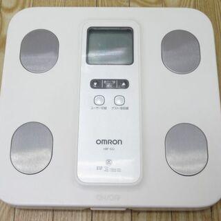 【ネット決済・配送可】jtp-0209 OMRON 体重計