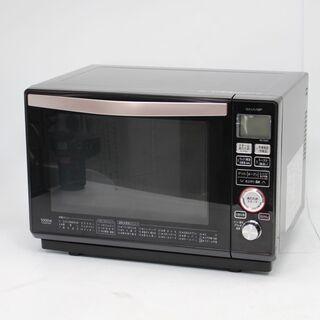 092)シャープ 加熱水蒸気オーブンレンジ 23L 電子レンジ ...