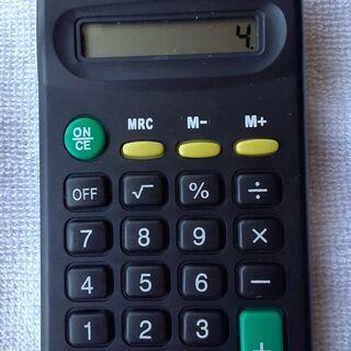 電卓 ➁   中古品