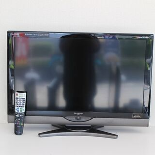 T166)SHARP AQUOS 液晶カラーテレビ LC-32S...