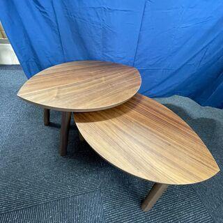 【ネット決済】木製コービーテーブル 2個セット/ Wooden ...