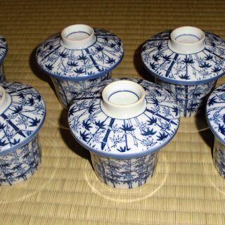 有田焼 茶碗 蓋つき 6個セット 茶碗蒸し 割れ・欠けなし