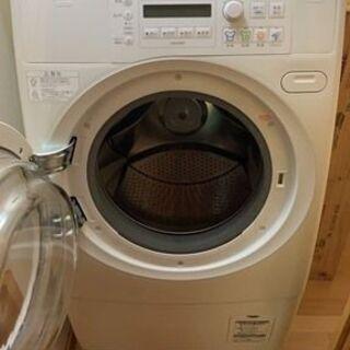 【もらって下さい!!】★ドラム式洗濯乾燥機 SANYO AWD-...