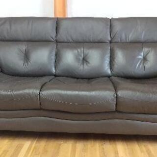 3人掛けソファー差し上げます!決定しました。お問い合せ頂いた方す...