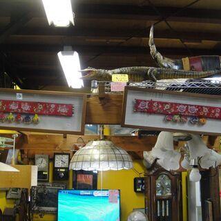 額入り中国風飾り インテリア 壁飾り