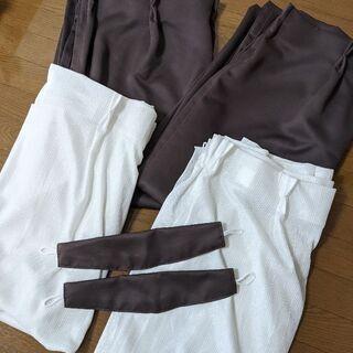 【ネット決済】カーテン2枚組(レースセット)巾100cm×丈220cm