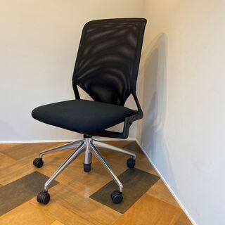 vitra ヴィトラ ワークチェア 黒 椅子 キャスター付き 中古品