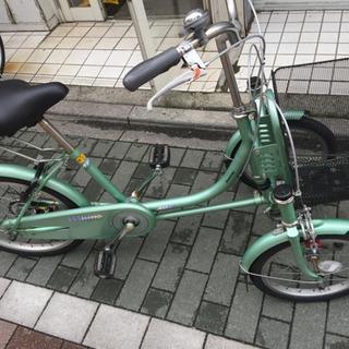 【ネット決済・配送可】三輪車 ブリヂストン ミンナ