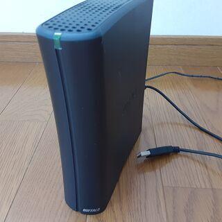 バッファロー 外付けハードディスク 1TB(ジャンク品)