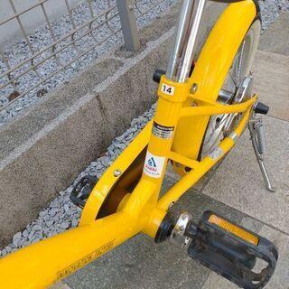 【ネット決済】子ども用自転車 14型 黄色 あさひ