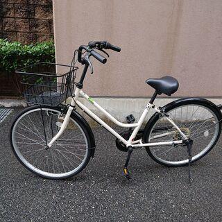 【ネット決済】シティーサイクル CREAM CITY 26型 自転車