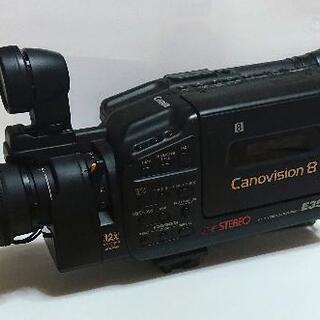 【ネット決済・配送可】CANON/キャノン 8mm ビデオカメラ...