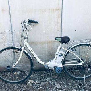 ⑤679番  電動自転車✨ Panasonic ビビ ENE632‼️