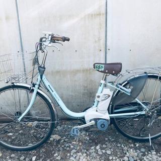 ⑤680番  電動自転車✨ Panasonic ビビ END63‼️