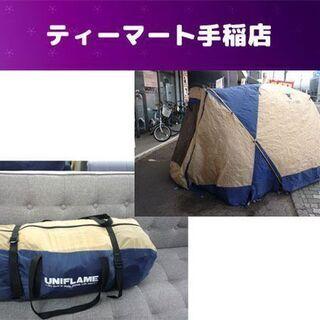 ユニフレーム エアグランド AG-FOUR 4人用 テント キャ...