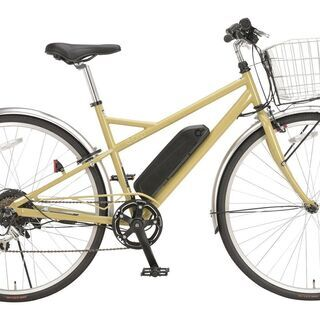 展示品処分e-Drip EDR 電動アシスト自転車 イエロ…