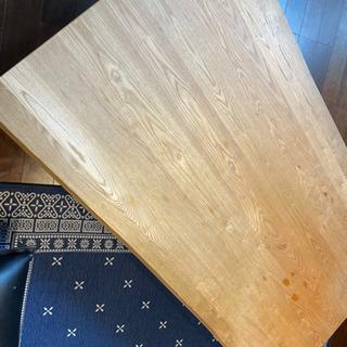 リビング センター テーブル タモ無垢材