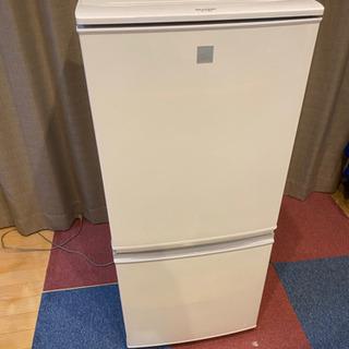 SHARP 冷蔵庫137L SJ-14E5-KW値下げ可能ですよ〜!