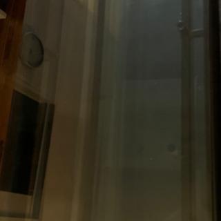 【ネット決済】ガラステーブル(テレビ台として使用)