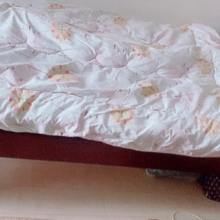 【ネット決済】ベッド(布団セット)