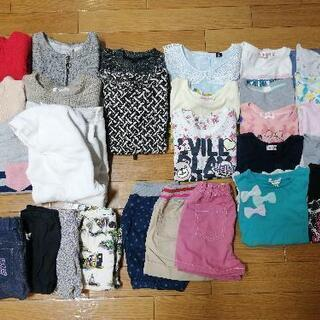 100と110♡女の子の服