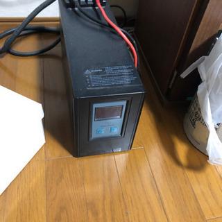 DC24V→AC 100V正弦波インバーター